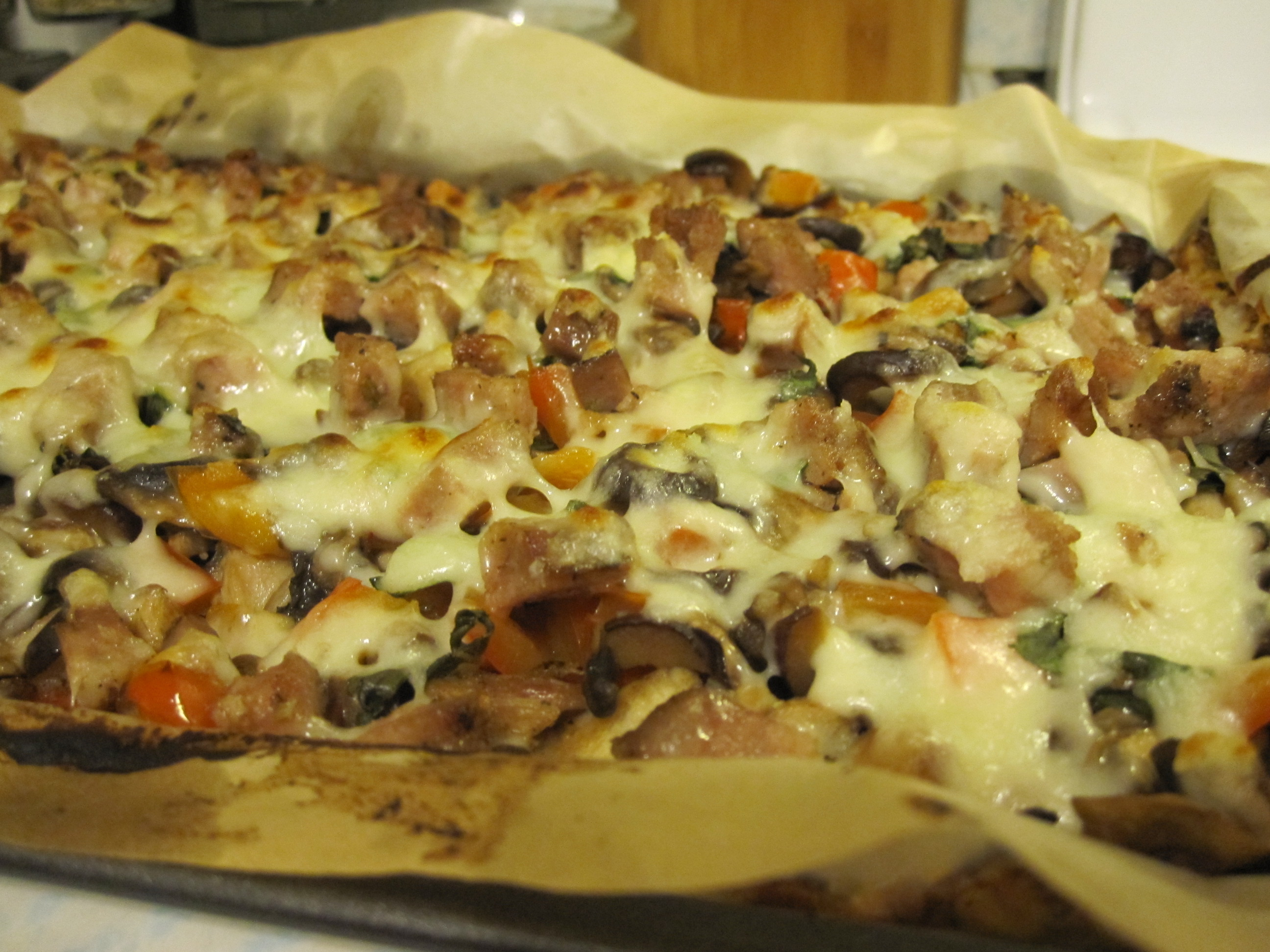 how to make cauiflower pizza