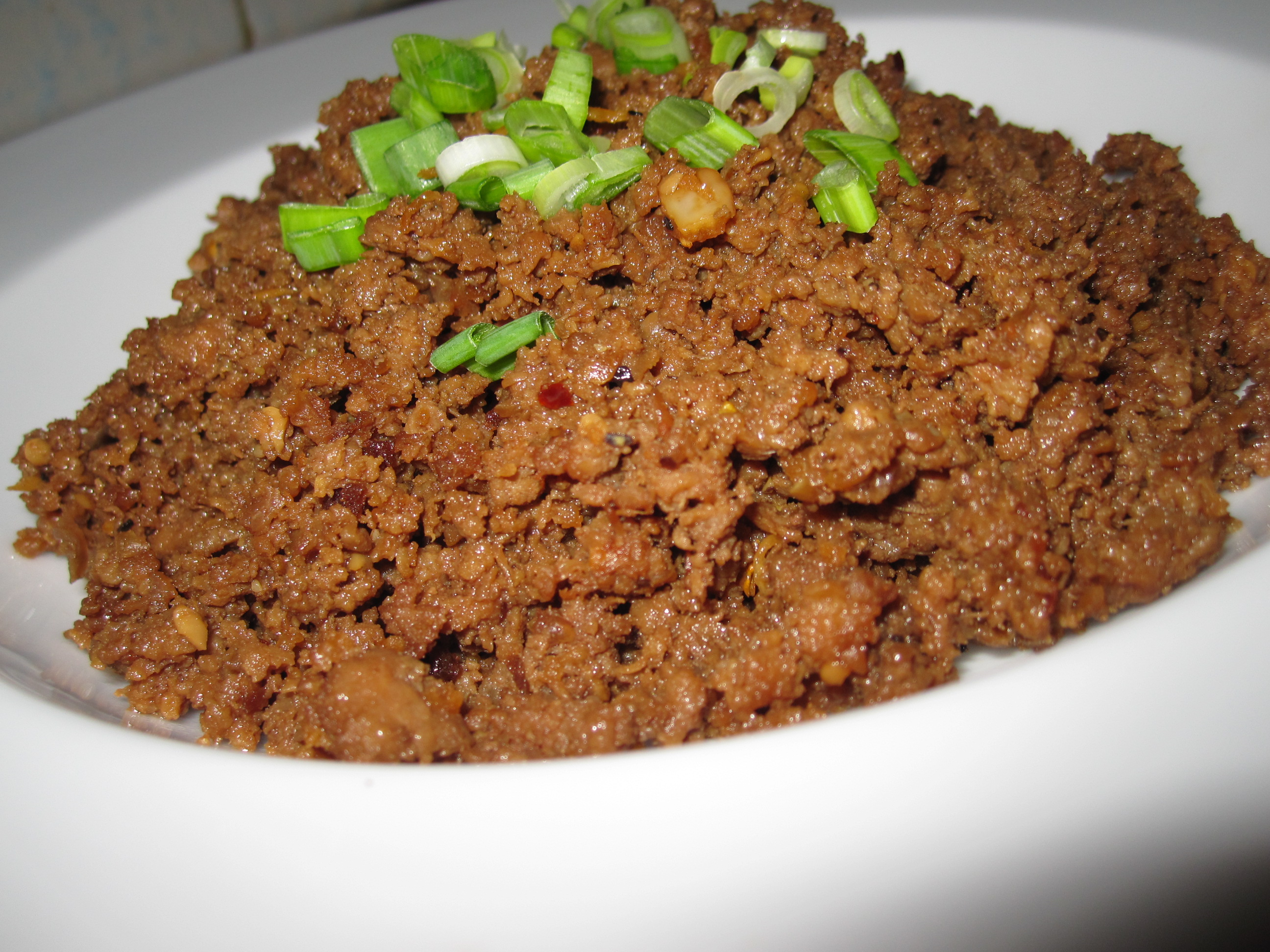 recipe: ginger ground beef [36]