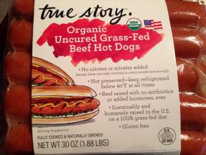 Grass Fed Hot Dogs From Costco